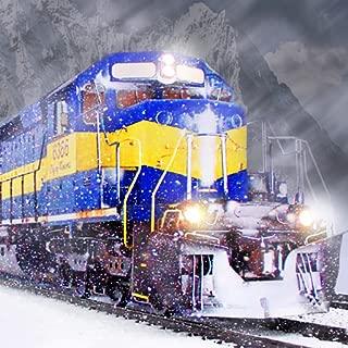 Winter Train - Simulator Driving On Ice Road