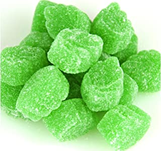 SweetGourmet Jelly Spearmint Leaves Slices Candy | 1 Pound