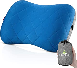 Hikenture Camping Pillow with Removable Cover -...