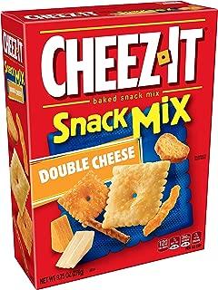 Cheez-It Variety Pack, Original and White Cheddar Cheese Crackers, KeeblerFudge Stripes Minis Cookies, Pringles Original Potato Crisps Chips, Rice KrispiesTreats Original, 30.18 oz (Pack of 30)