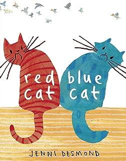 red cat blue cat