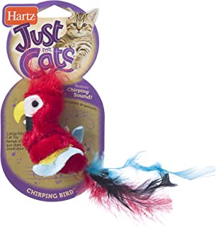 fuzzy bird toy
