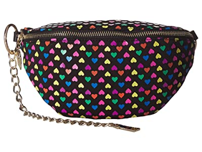 Betsey Johnson Heart on My Sleeve Fanny Pack (Multi) Bags