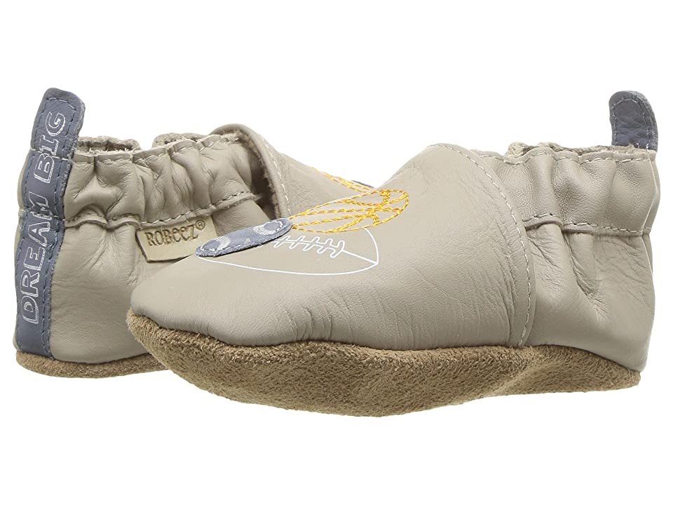 Robeez Dream Big Soft Sole (Infant/Toddler) (Taupe) Boy