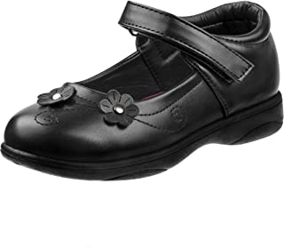 Petalia Girl's Mary Jane School Uniform Shoes
