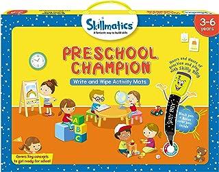 Skillmatics Educational Game: Preschool Champion, Multi-Colour, 3 - 6 Years, SKILL03PCB