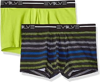 Men's Cotton Stretch No Show Trunk Underwear Multipack