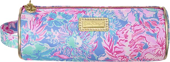 Lilly Pulitzer Pencil Pouch Travel Bag with Zip Close, Viva La Lilly