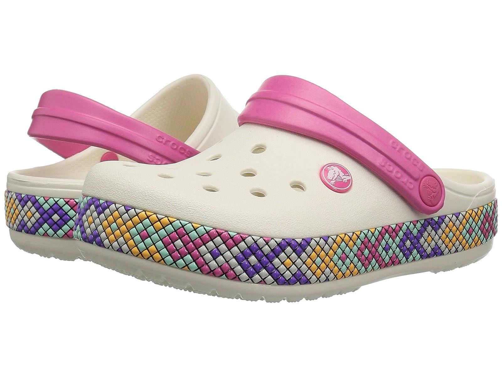 Crocs Crocband Kids Crocband Crocs Gallery Clog (Toddler/Little Kid) 8ce912