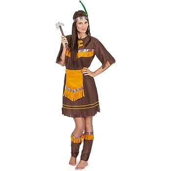 Disfraz de india para mujer: Amazon.es: Juguetes y juegos
