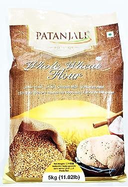 Patanjali Whole Wheat Flour - 10 Lbs