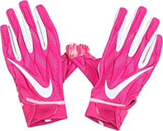 Nike Men's Superbad 4.5 Football Receiver Gloves XX-Large Pink White