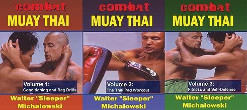 3 DVD SET Combat Muay Thai training & street techniques