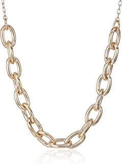 Kate Spade New York Womens Link Mini Necklace, Gold