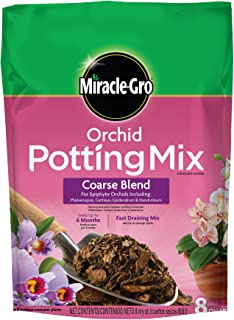 Miracle-Gro Orchid Potting Mix, 8-Quart (currently ships to select Northeastern & Midwestern states)