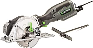 """Genesis GMCS547C 5.8 Amp, 4-3/4"""" Control Grip Compact Circular Saw For Metal Cutting with chip Collector & Metal Cutting Blade"""