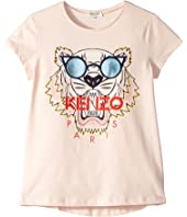 Kenzo Kids - Glasses Logo Tee (Big Kids)