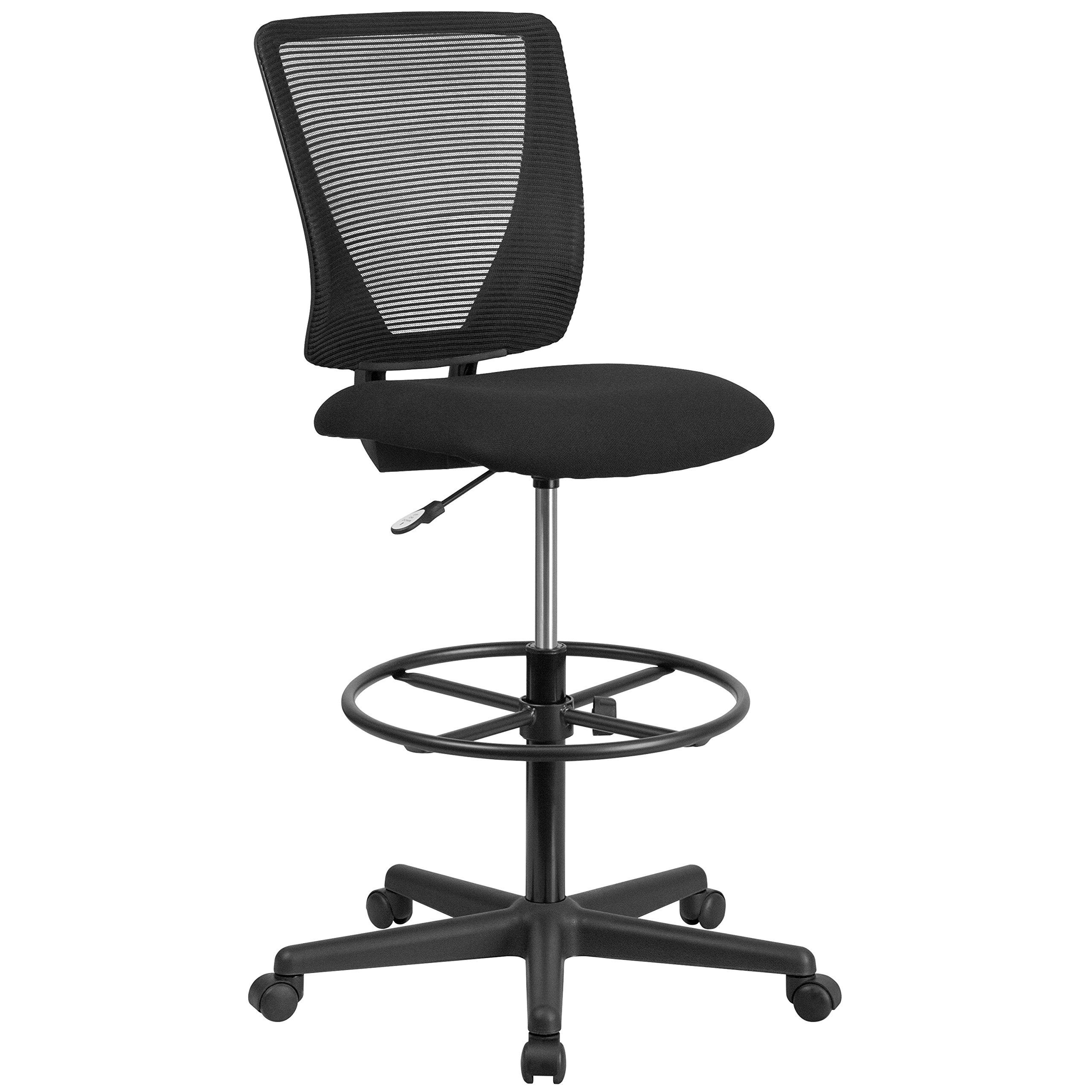 Flash Furniture Ergonomic Mid Back Adjustable