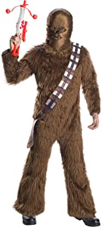 Men's Star Wars Classic Adult Deluxe Chewbacca Costume and Mask Adult Costume