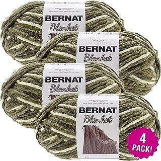 Bernat 99633 Gathering Moss, Blanket Big Ball Yarn, Multipack of 4, 4 Pack