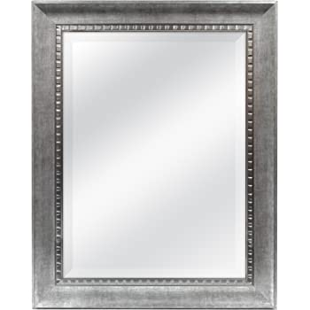 MCS 18x24 Inch Sloped Mirror, 23.5x29.5 Inch Overall Size, Silver (20563)