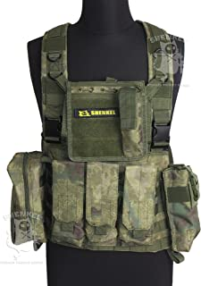 SHENKEL Lightweight modular chest rig best var.4 A-TACS FG (japan import)