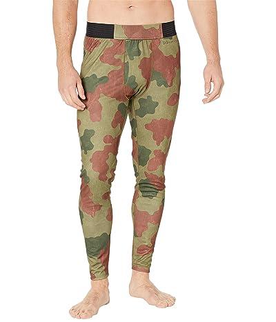 Burton [ak] Helium Power Gridtm Base Layer Pants (Martini Olive Telo Camo) Men