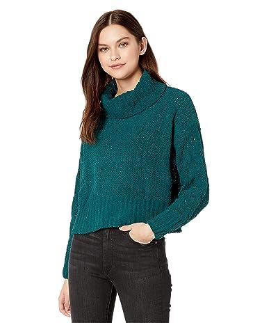 Billabong Cherry Moon Sweater (Deep Jade) Women