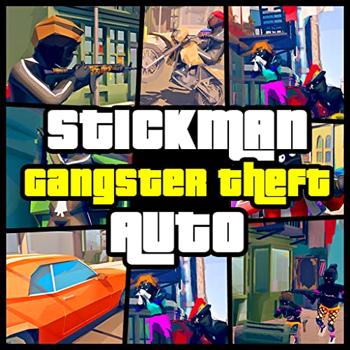 Crime City Stickman Grand Town Theft Auto Heist Gangster Game
