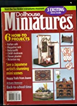 dollhouse and miniature scene magazine back issues