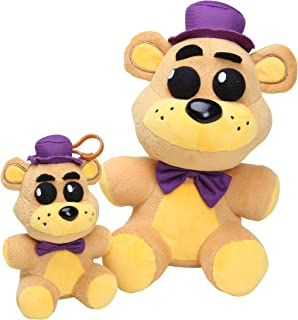Five Nights at Freddy's Plush Possessed Fredbear Toys set of 2, 5