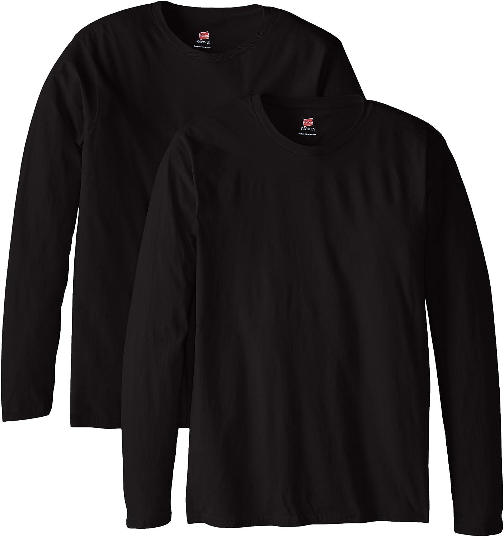 Hanes Men's Perfect-T Long Sleeve T-shirt (2-pack)