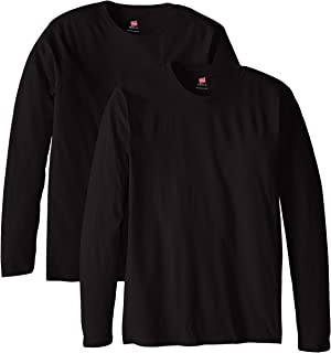 Hanes Men's Long-Sleeve Premium T-Shirt (Pack of 2)