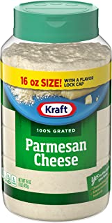 Kraft Parmesan Grated Cheese (16oz Bags, pack of 3)