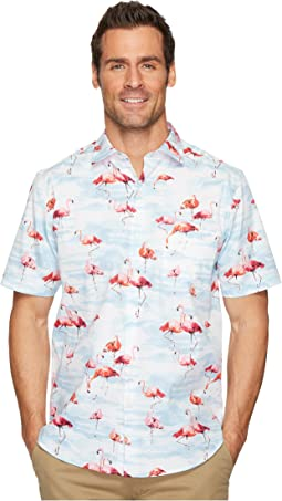 Tommy Bahama - Delano Flamingo Camp Shirt