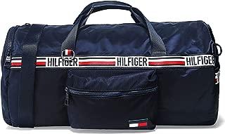 Tommy Hilfiger Men's Signature Tape Convertible Duffle Bag Navy