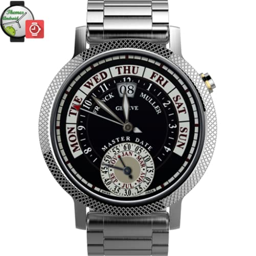Franck Muller Master Date Watch Face Android Wear wmwatch