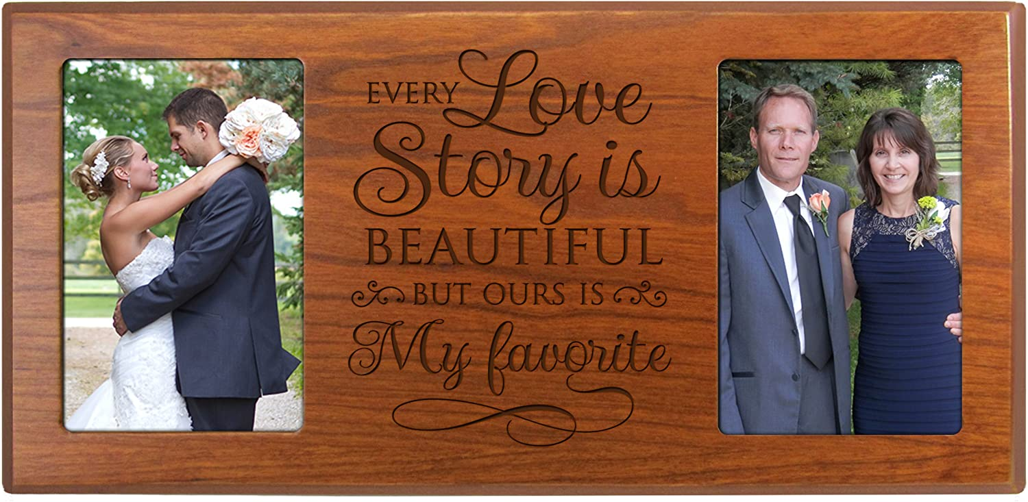WEDDING Gift for PARENTS Horizontal   at06 Free Design Proof we owe to our LOVING Parents Photo Clip Frame All that we are.. Landscape