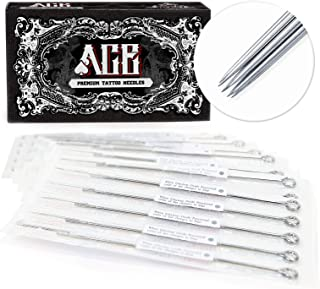 ACE Needles 50 pcs. 9 Round Liner Pre-Made Sterile Tattoo Needles - 9RL