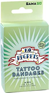Sponsored Ad - GAMAGO No Regrets Bandages for Kids & Kidults - Set of 18 Individually Wrapped Self Adhesive Bandages - Ste...