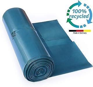 ProfessionalTree Bolsas de basura 120 L – gran resistencia al desgarro – rollo de 25 – Tipo 100 extra – Sacos de basura XXL bolsas de basura – 70 ? – 700x1100 mm – LDPE – azul