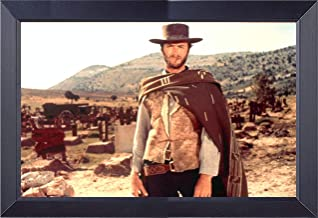 Clint Eastwood Good Bad and The Ugly 12 X 18 Framed Print