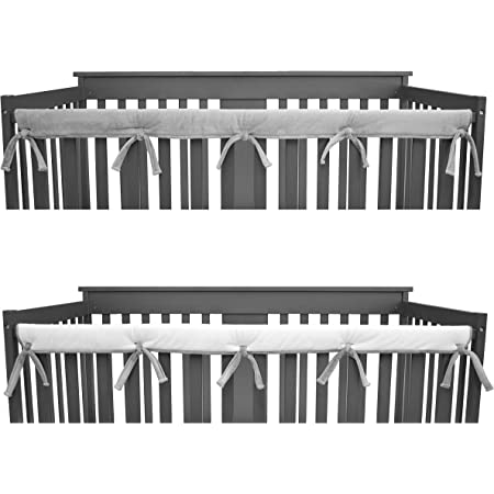 2 Pack White Easy Teether XL Side Rail Covers