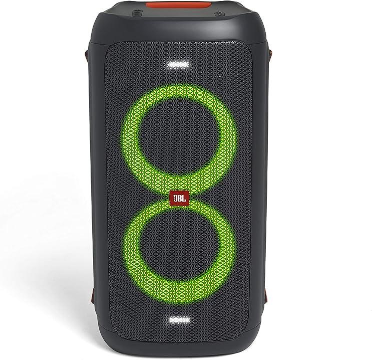 Speaker blutooth portatile con effetti di luce jbl partybox 100 JBLPARTYBOX100EU