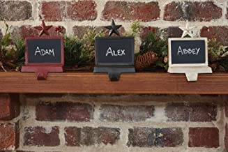 Best chalkboard stocking holder Reviews