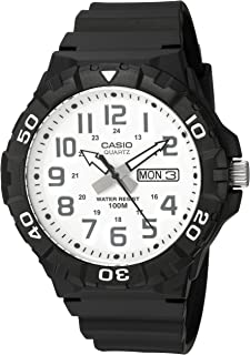 Casio Men's 'Diver Style' Quartz Resin Casual Watch,...