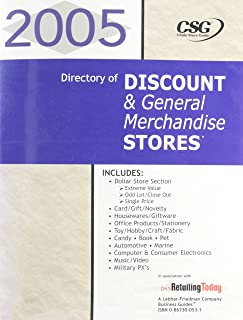 2005 Directory of Discount & General Merchandise Stores