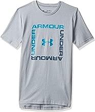 Under Armour Boy's Box Logo Short Sleeve