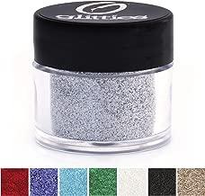 GLITTIES - Brilliant Silver - Cosmetic Grade Extra Fine (.006