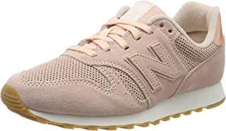 New Balance 373 Womens Pink Suede Trainers
